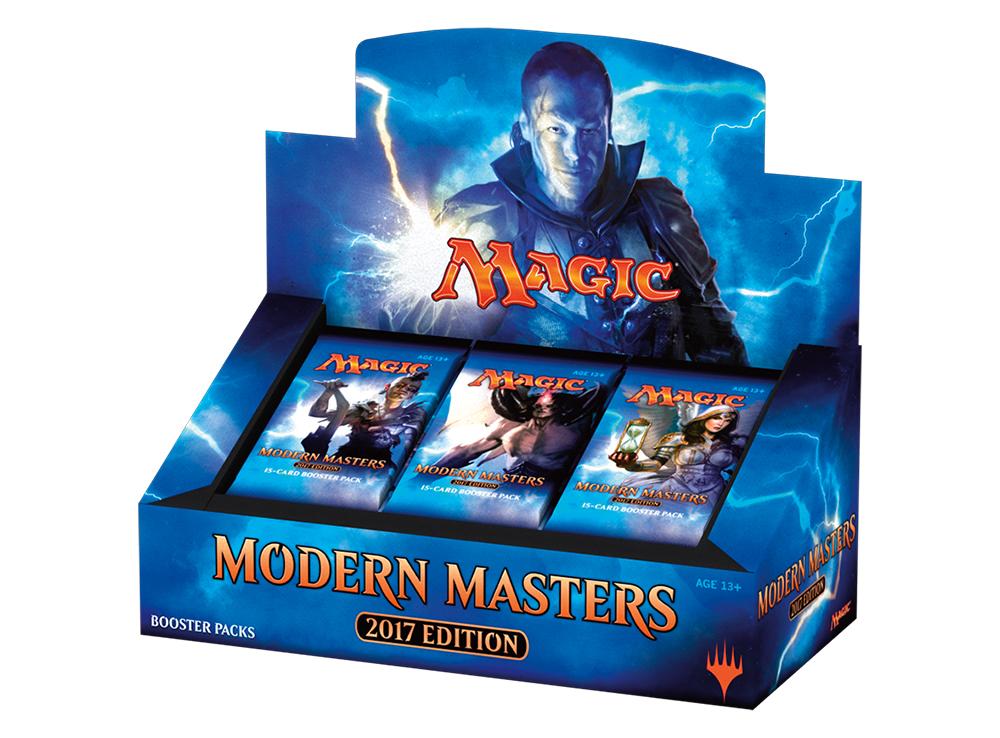 MTG: Modern Masters 2017 Дисплей бустеров