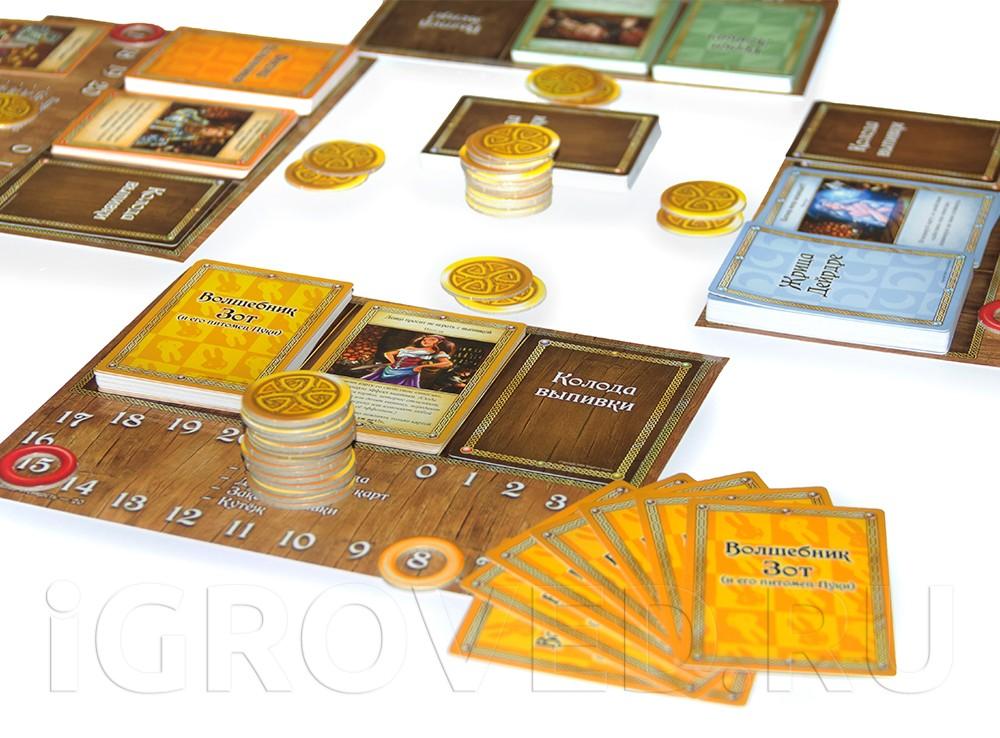 Игровой процесс настольной игры Таверна Красный Дракон