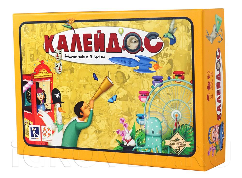 Коробка настольной игры Калейдос