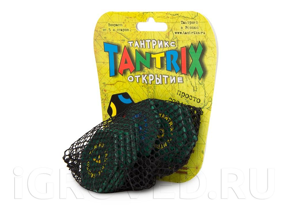 Настольная игра Тантрикс Открытие в зеленом сетчатом мешочке