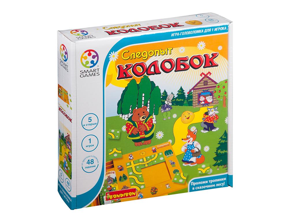 Коробка настольной игры-головоломки Следопыт Колобок