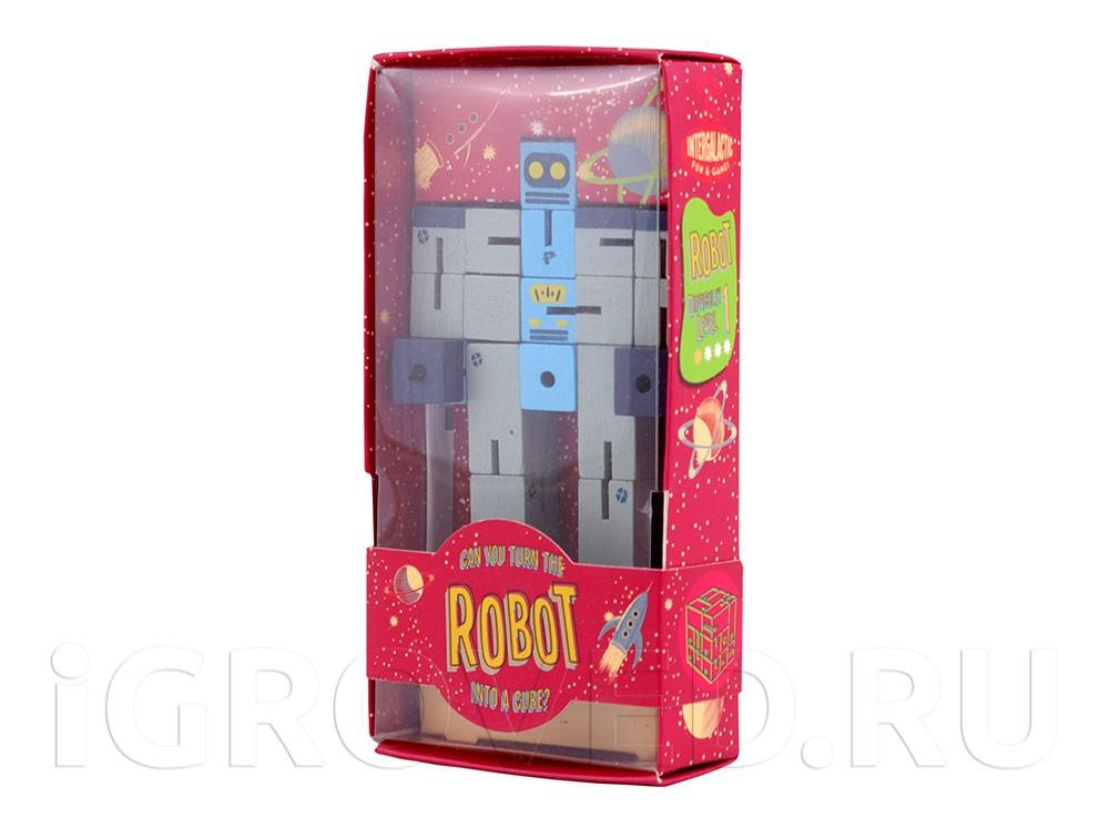 Настольная игра-головоломка Планета Пазл Робот