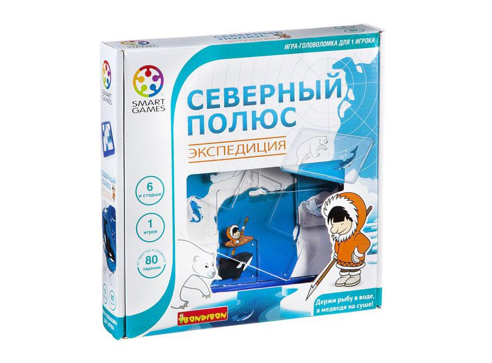Коробка настольной игры-головоломки Северный полюс. Экспедиция