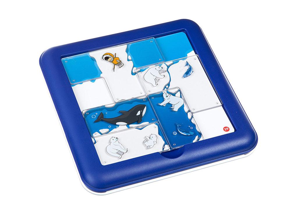 Компоненты настольной игры-головоломки Северный полюс. Экспедиция