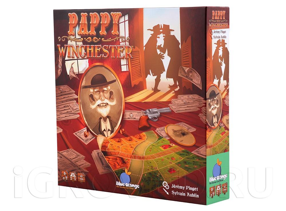 Коробка настольной игры Дедуля Винчестер