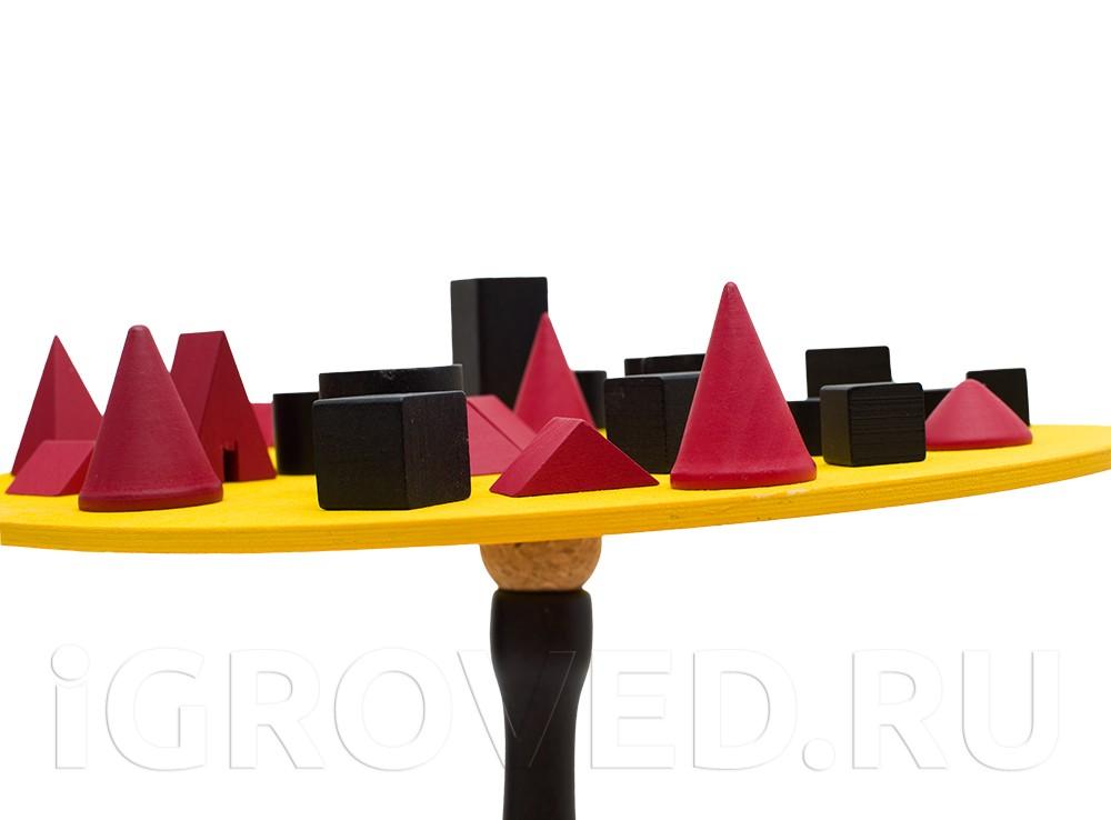 Компоненты настольной игры Бамболео (Bamboleo)
