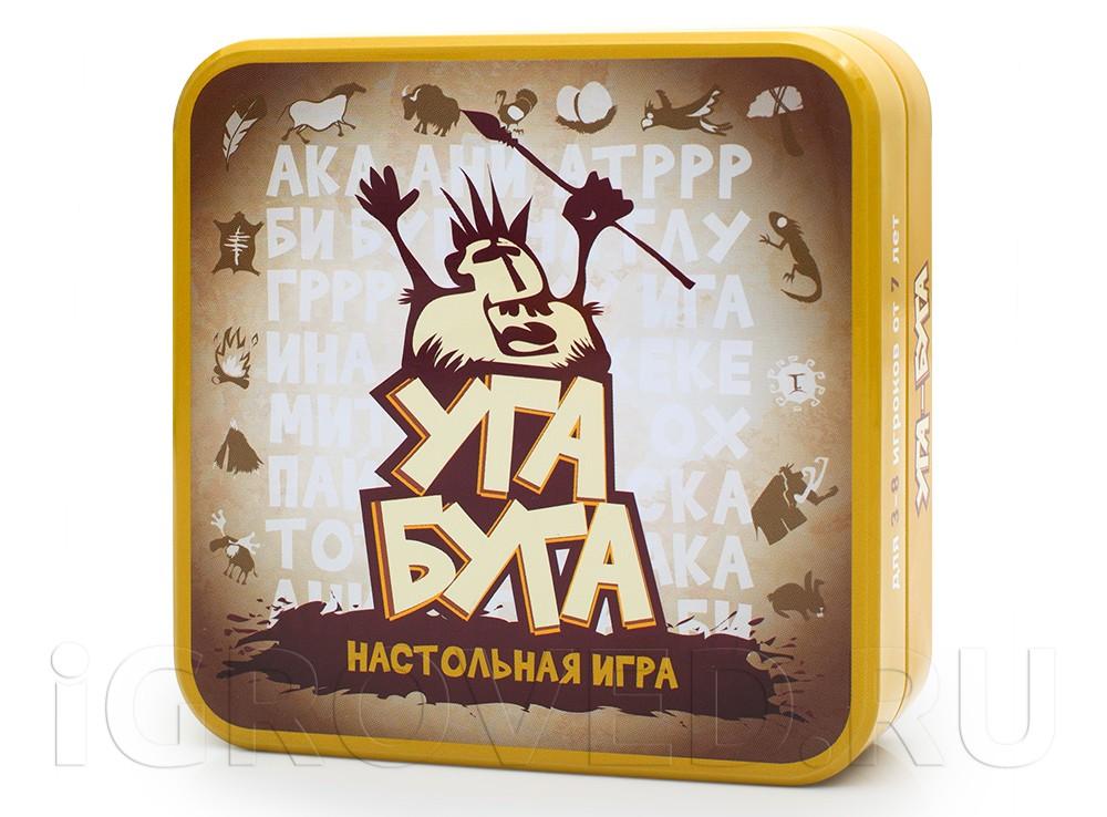 Коробка настольной игры Уга Буга (Ouga Bouga)