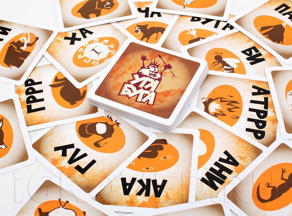 Компоненты настольной игры Уга Буга (Ouga Bouga)