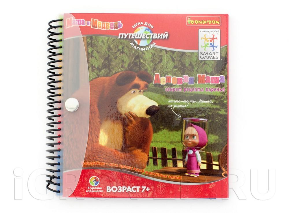 Игра-головоломка Маша и Медведь: Деловая Маша