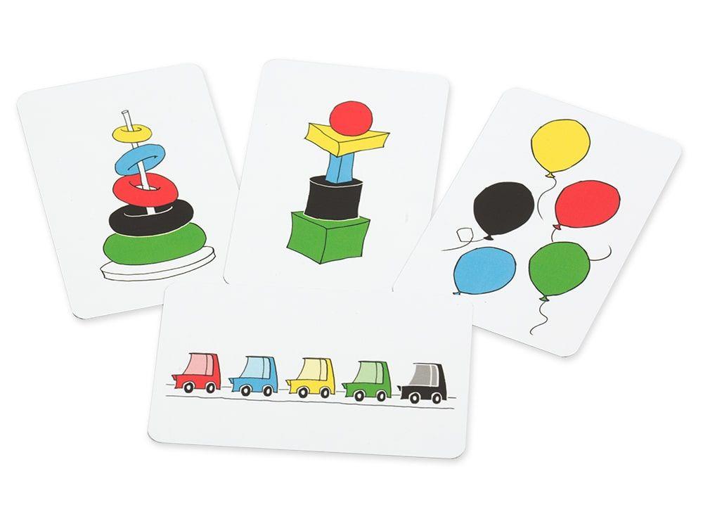Разнообразные карточки заданий. Настольная игра Скоростные колпачки (Speed cups)