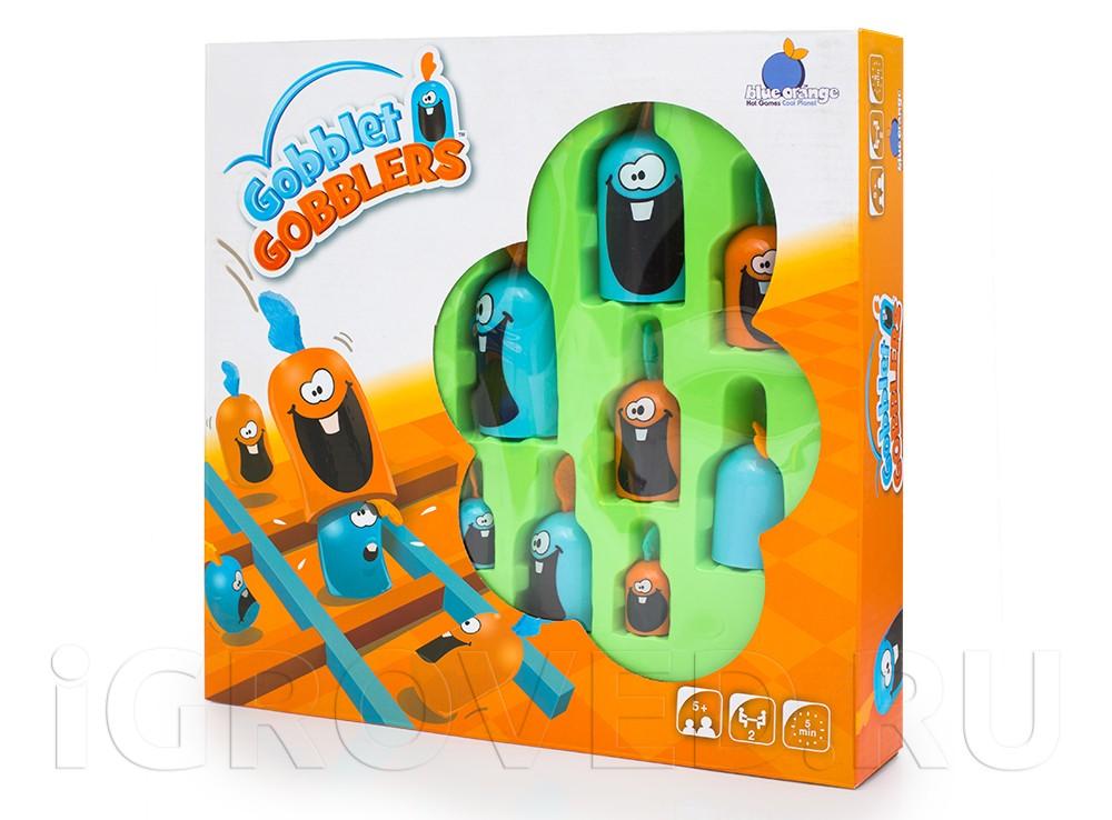 Игра Гобблет для детей (Gobblet Gobblers, пластик)