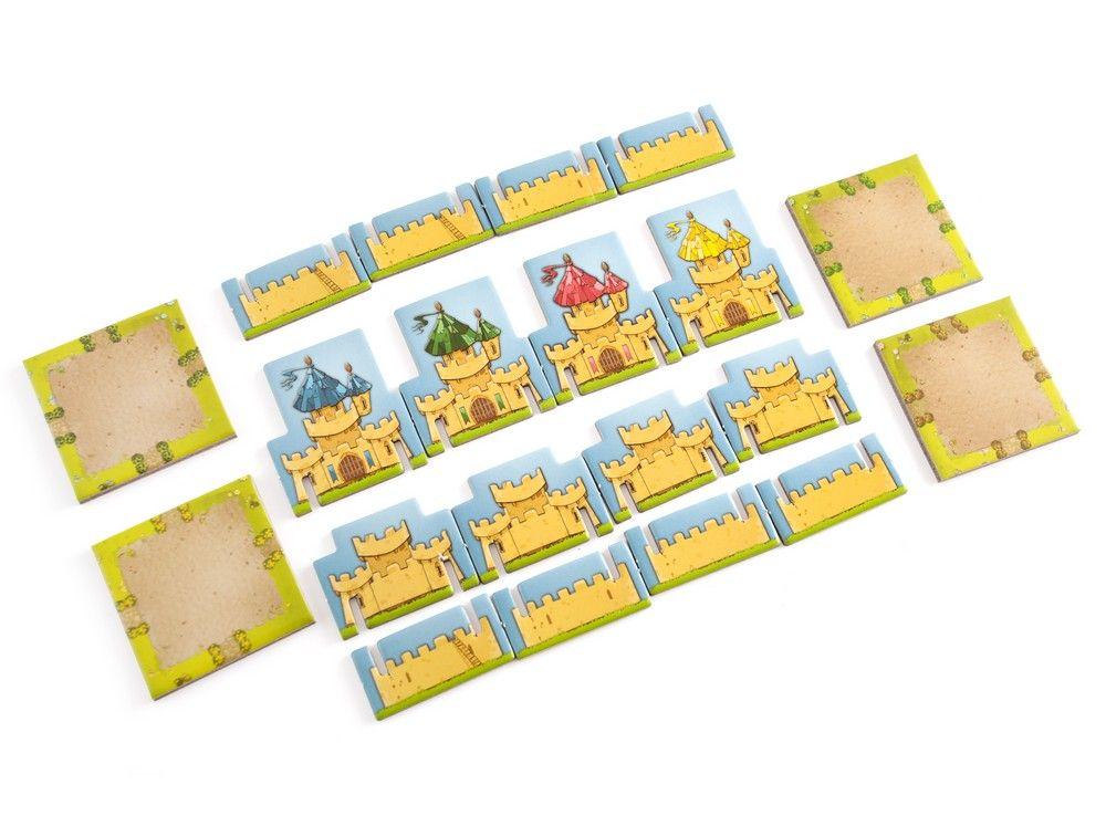 Игровой процесс настольной игры Лоскутное королевство