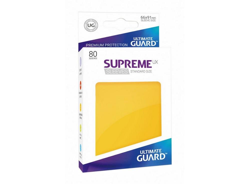 Протекторы Ultimate Guard, жёлтые
