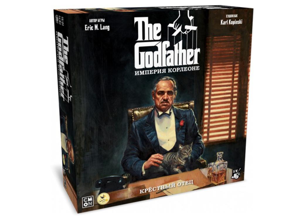 Коробка настольной игры Крёстный отец. Империя Корлеоне
