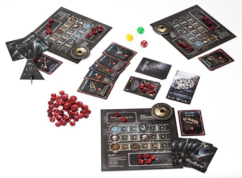 Игровой процесс настольной игры Bloodborne