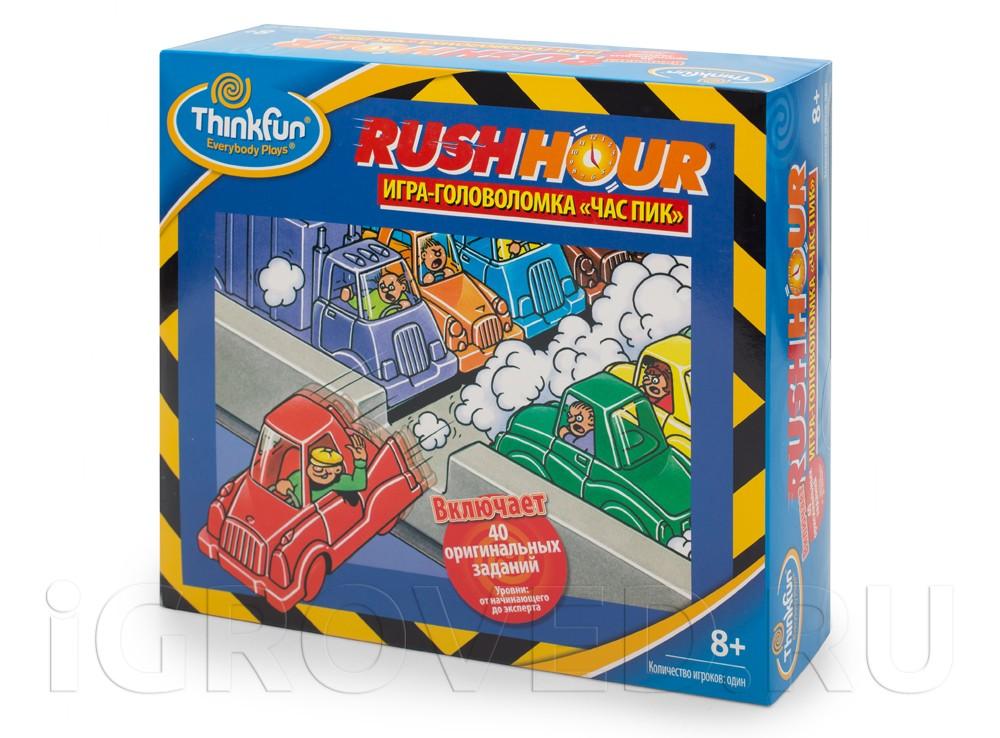 Игра-головоломка Час Пик или Парковка (Rush Hour)