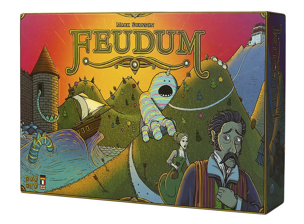 Коробка настольной игры Феод