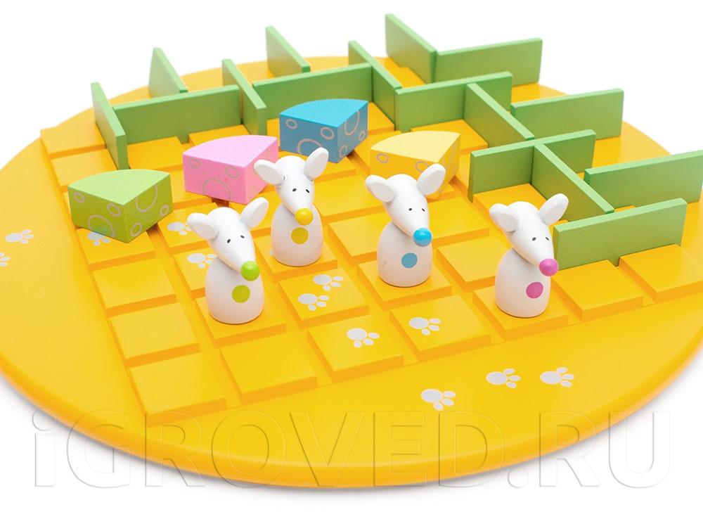 Компоненты настольной игры Коридор для детей (Quoridor Kid)