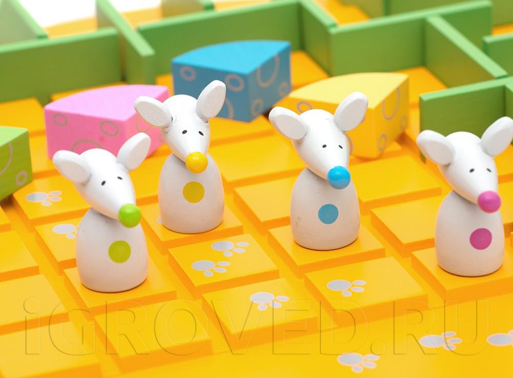 Компоненты настольной игры Коридор для детей (Quoridor Kid