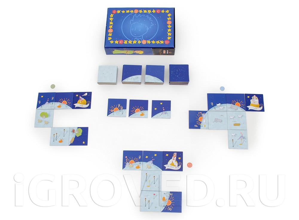 Игровой процесс настольной игры Маленький принц (The Little Prince: Make Me a Planet)