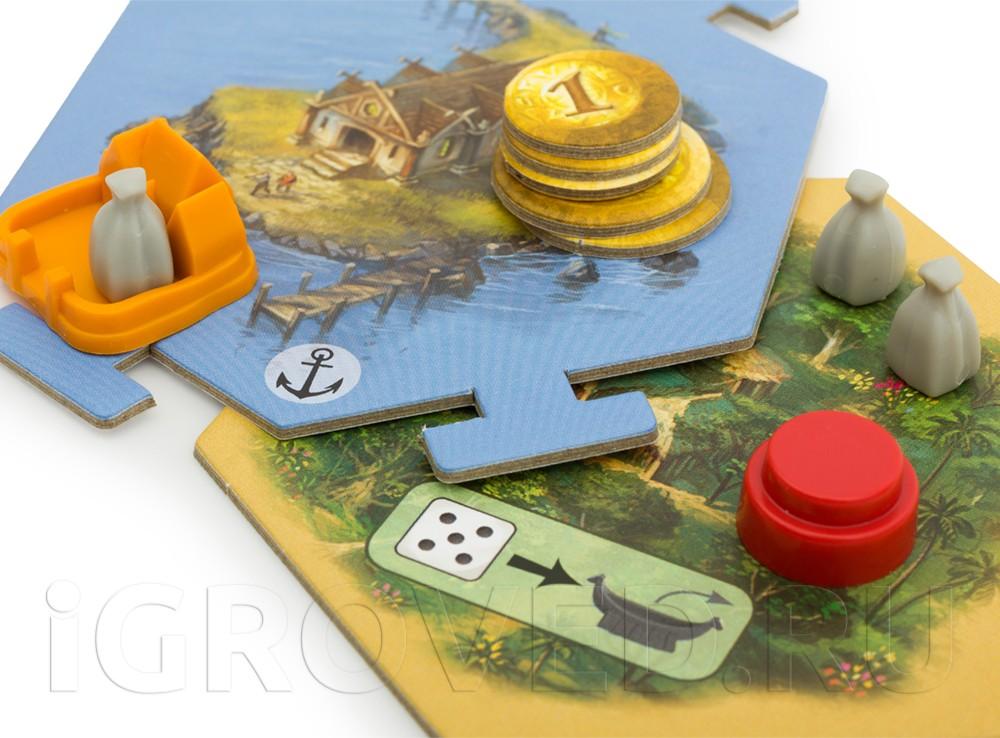 Новые острова и новые возможности! Настольная игра Колонизаторы: Первопроходцы и Пираты (дополнение)