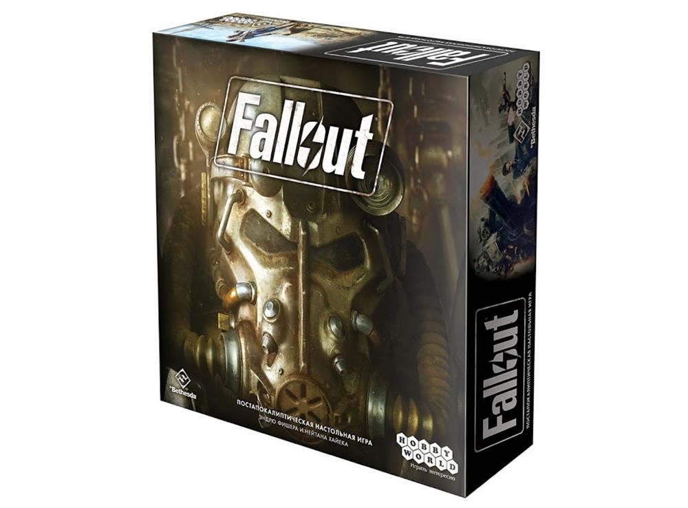 Коробка настольной игры Fallout
