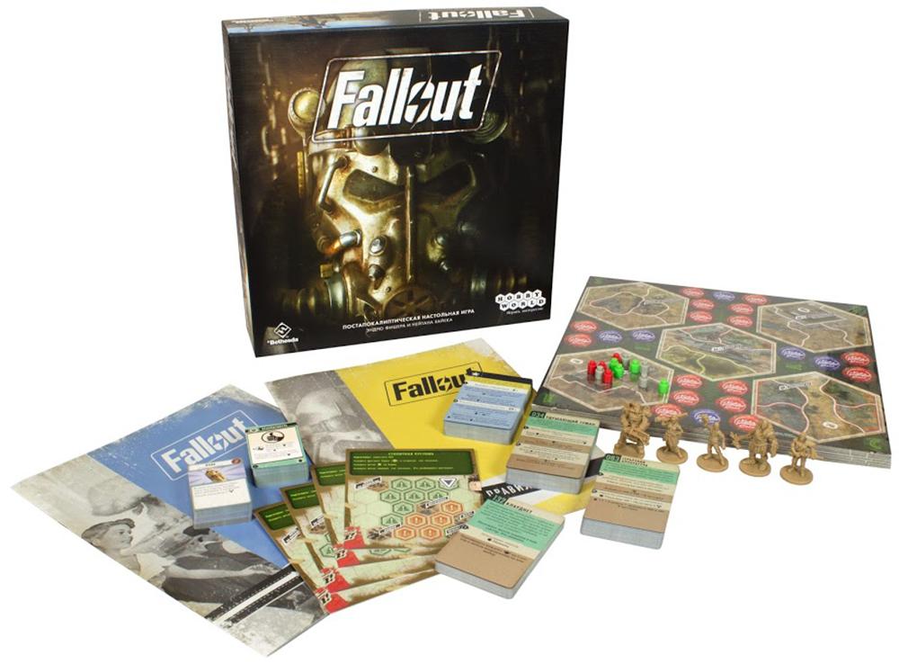 Компоненты настольной игры Fallout