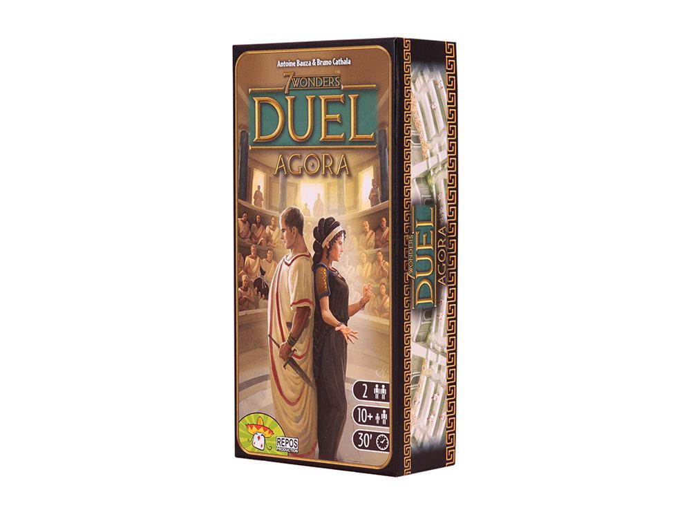 Коробка настольной игры 7 чудес Дуэль: Агора