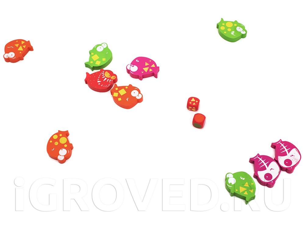 Игровой процесс настольной игры Сплэш Атак (Splash Attack)