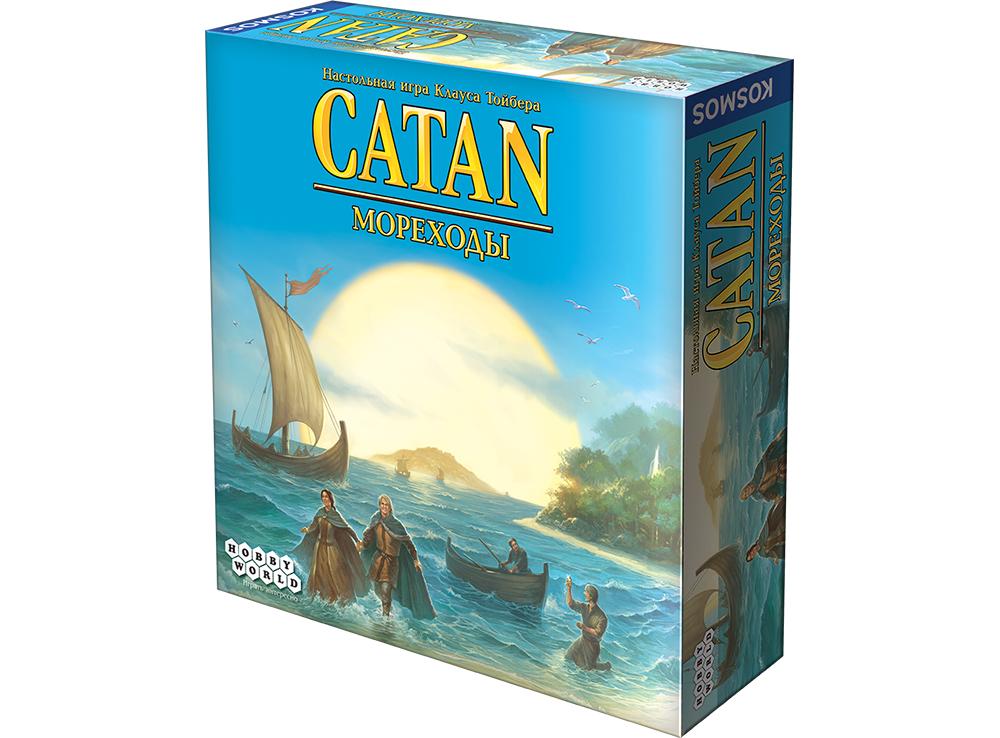 Коробка настольной игры Колонизаторы: Мореходы (дополнение)