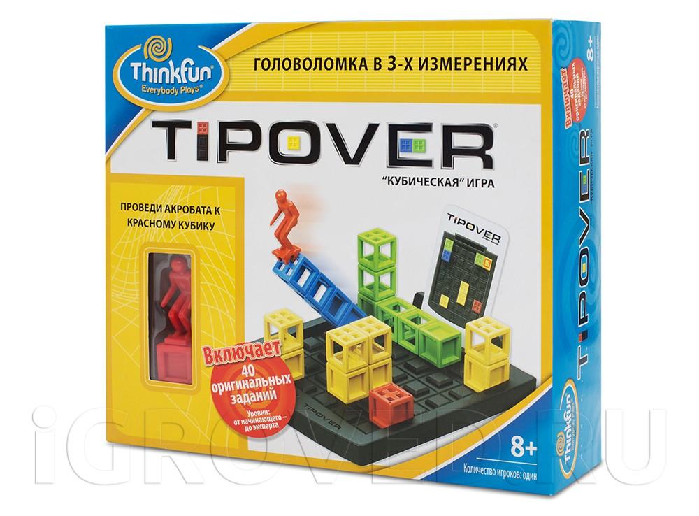 Игра-головоломка Кубическая головоломка (Tipover)