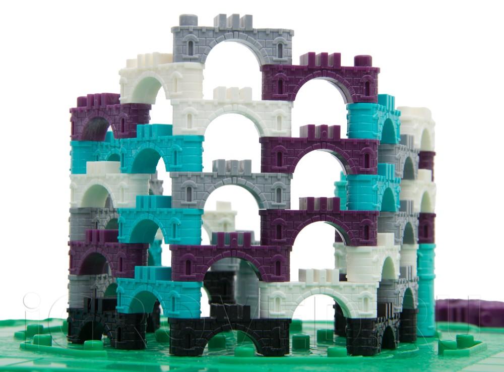 Компоненты настольной игры Эльфийский замок