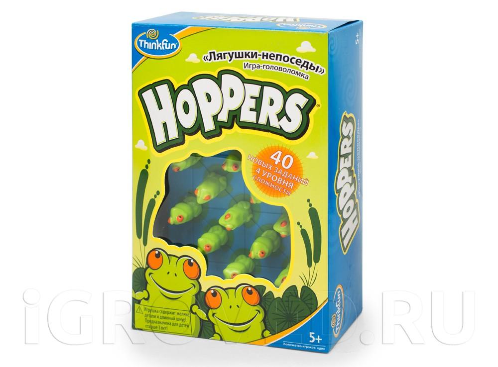 Игра-головоломка Лягушки-непоседы (Hoppers)