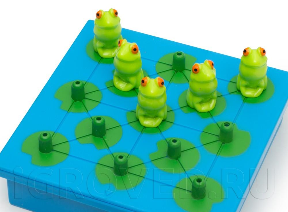 Лягушки на игровом поле