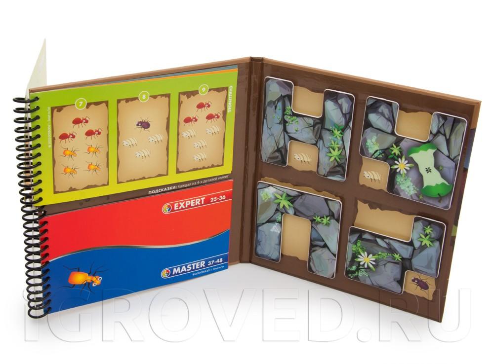 Папка настольной игры-головоломки Деловые жуки в открытом виде