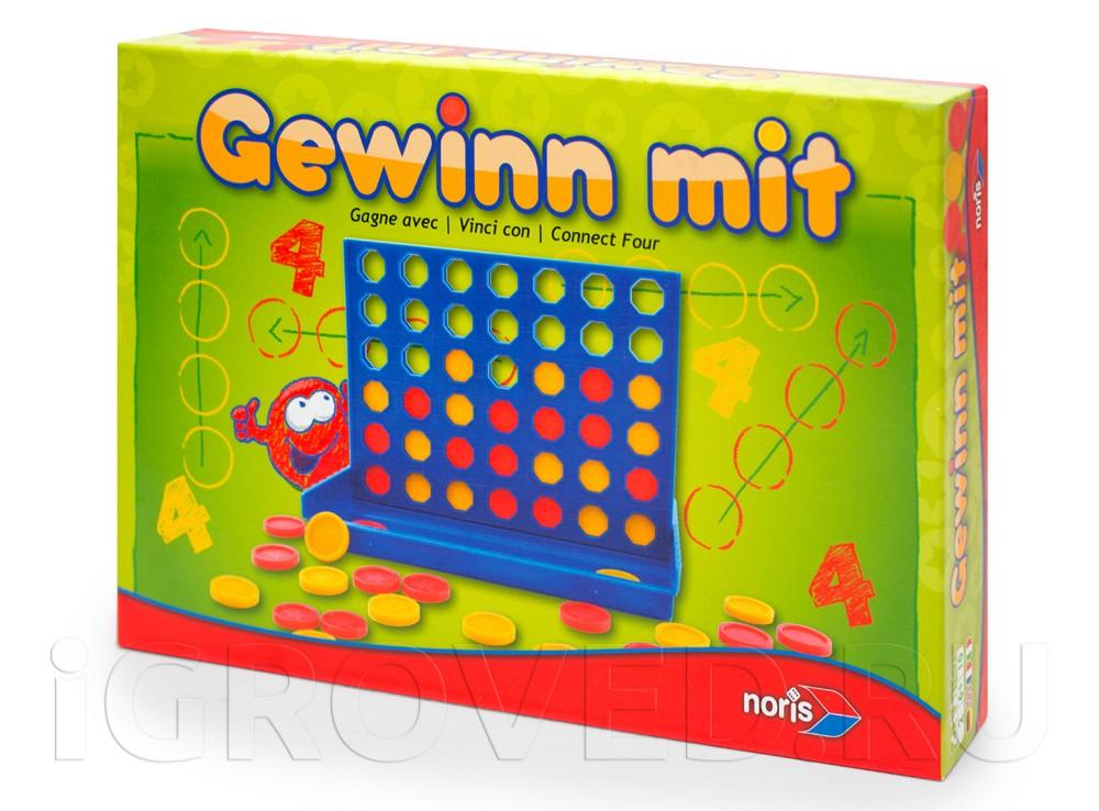 Коробка настольной игры Четыре в ряд (Gewinn mit)