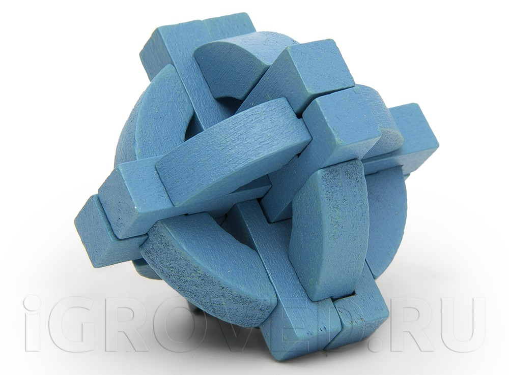 Головоломка Colour Block Puzzle Display Blue