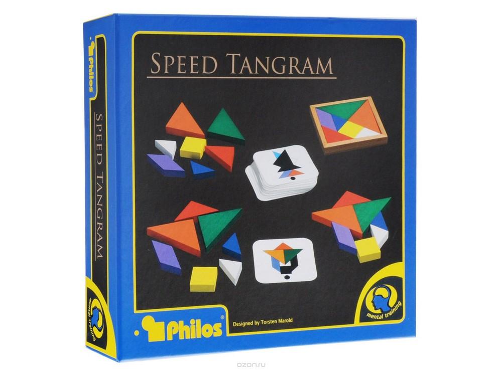 Коробка настольной игры Скоростной Танграм (Speed Tangram)