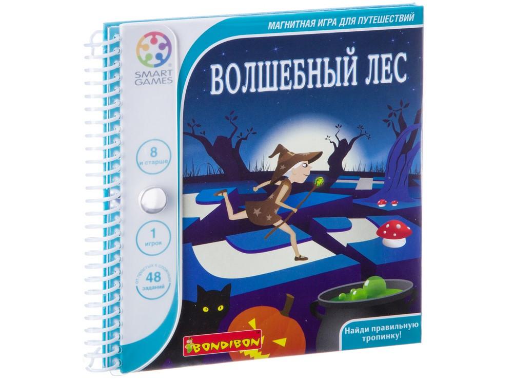 Книжка настольной игры-головоломки Волшебный лес