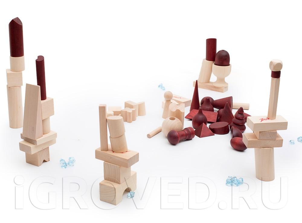 Фигуры из настольной игры Баусак (Bausack)
