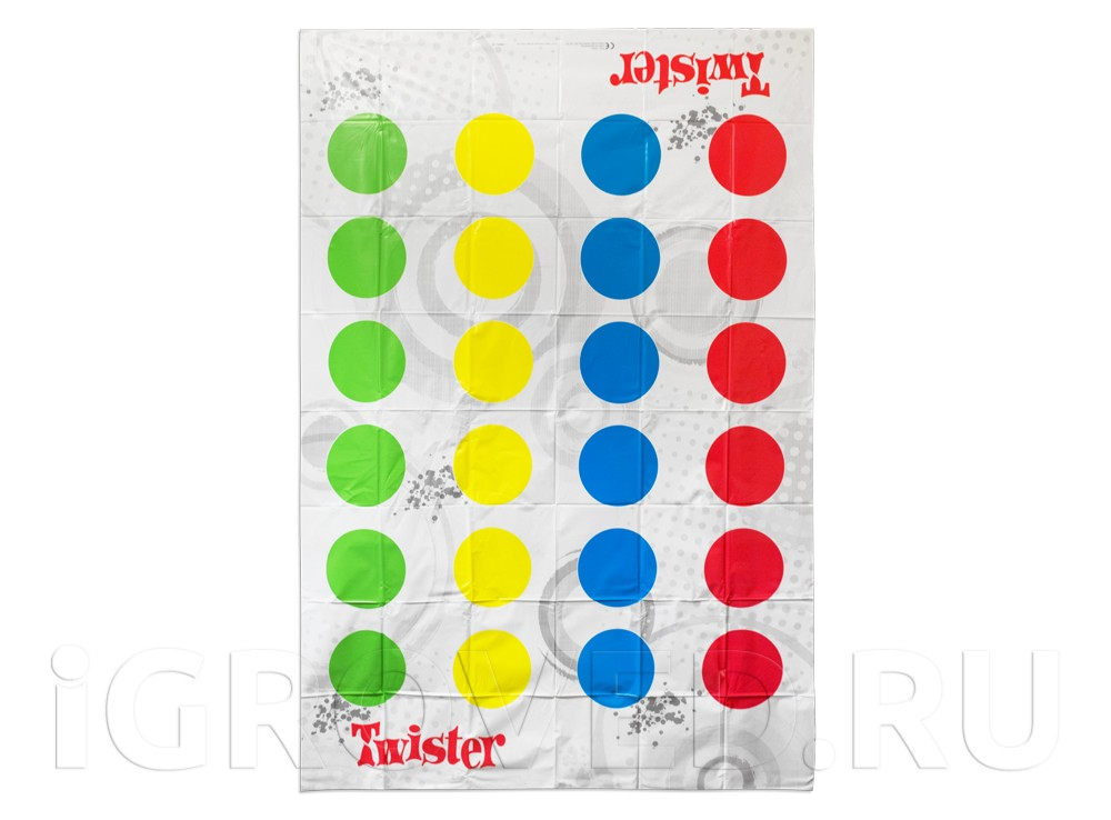 Компоненты настольной игры Твистер (Hasbro, Twister)