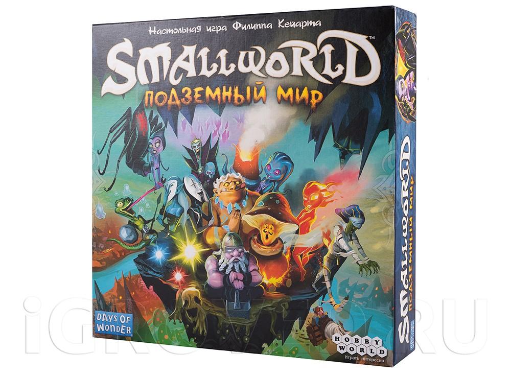 Настольная игра Подземный Мир (Small world: Underground, русское издание)