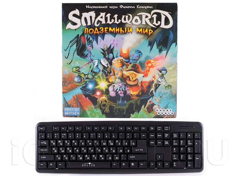 Настольная игра Подземный Мир (Small world: Underground, русское издание) размер коробки