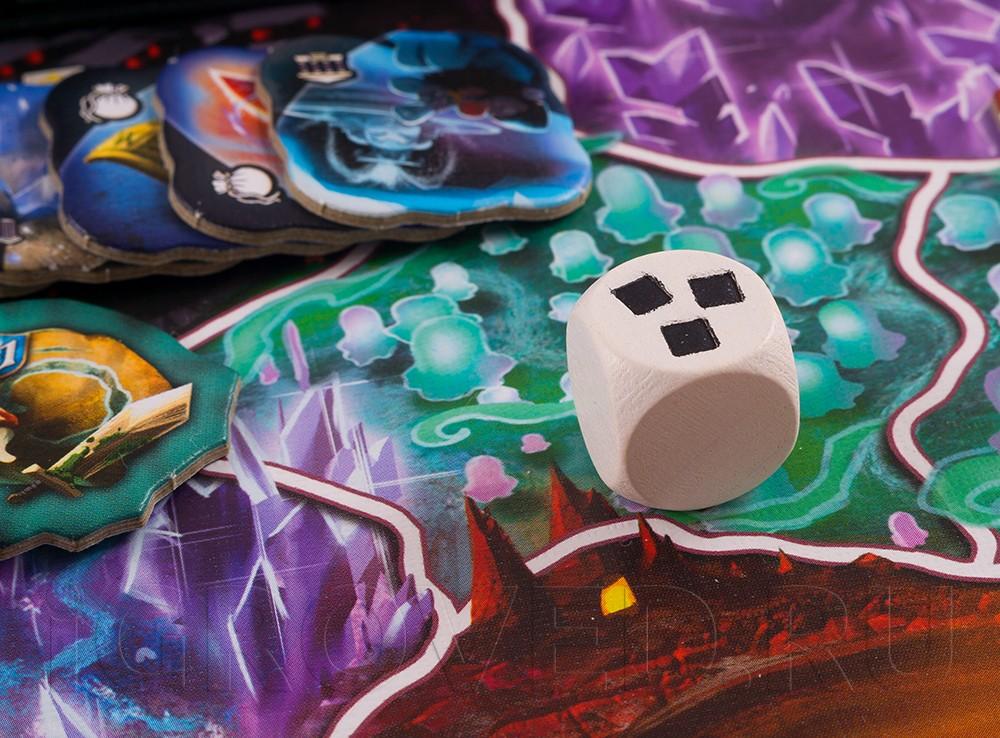 Настольная игра Подземный Мир (Small world: Underground, русское издание) кубик