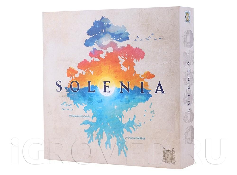 Коробка настольной игры Солания (Solenia)