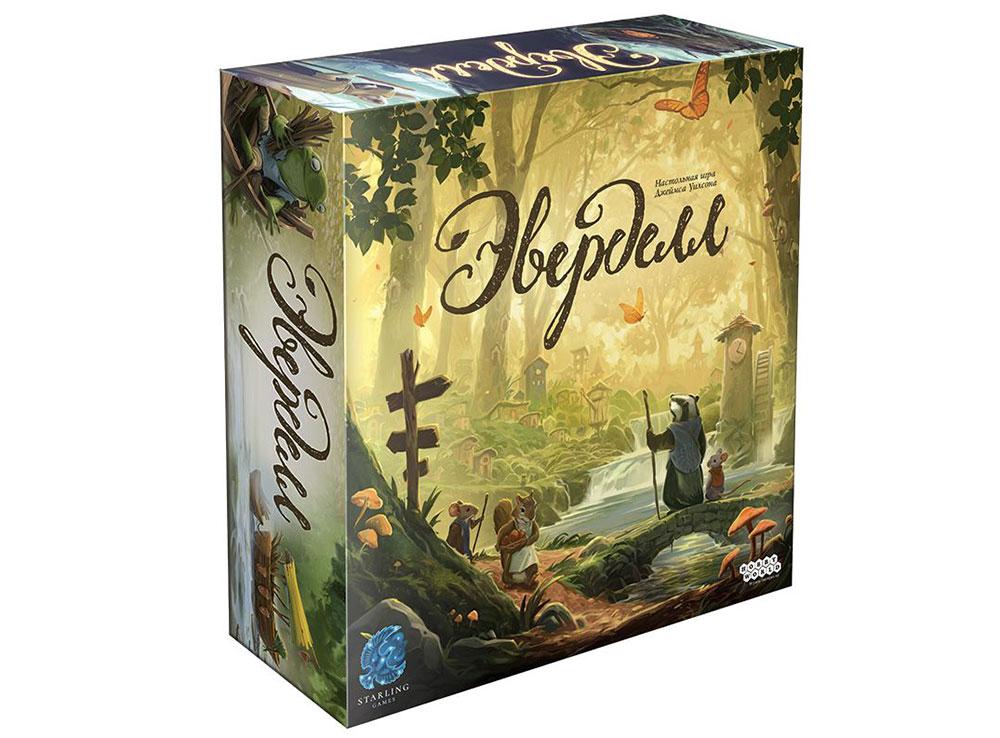 Коробка настольной игры Эверделл