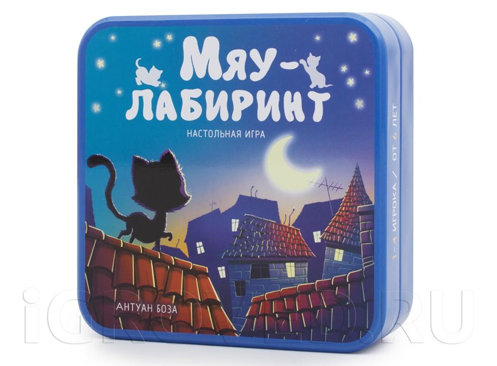 Коробка настольной игры Мяу-лабиринт (Chabyrinthe)
