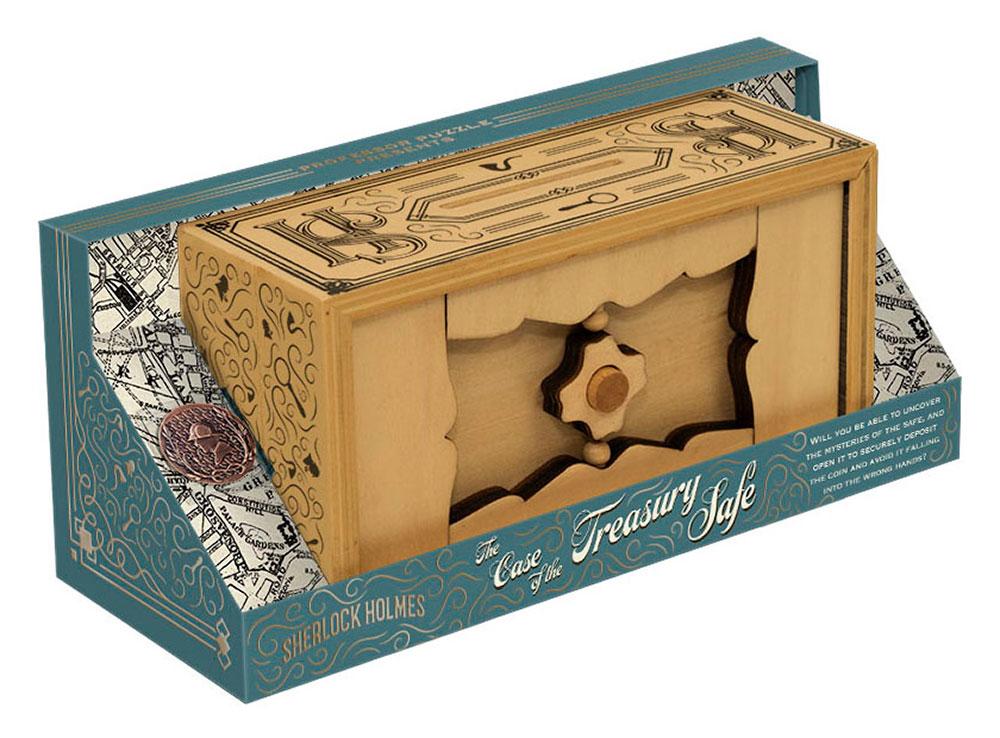 Коробка настольной игры-головоломки Дело о казначейском сейфе