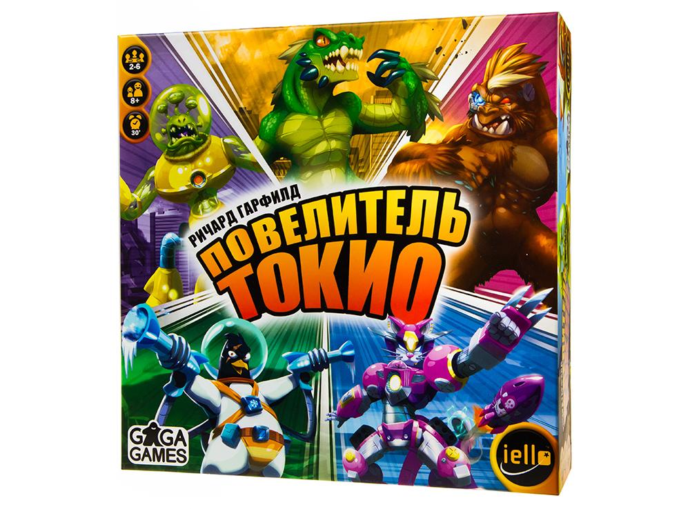 Коробка настольной игры Повелитель Токио