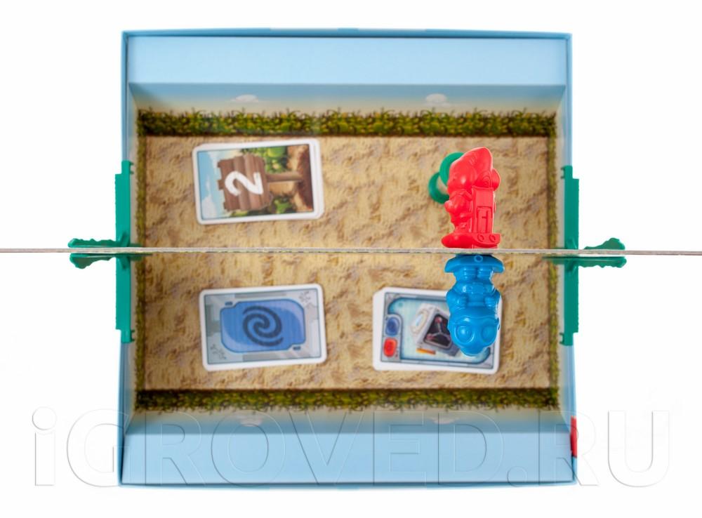 Игровой процесс настольной игры Пришельцы в кукурузе (Mino & Tauri)